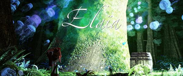 Affiche de notre court métrage Elaïa